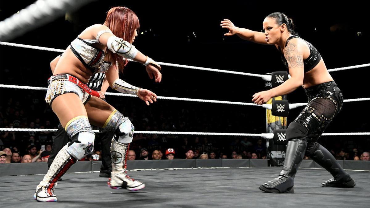 Kairi Sane, Shayna Baszler (source: WWE.com)