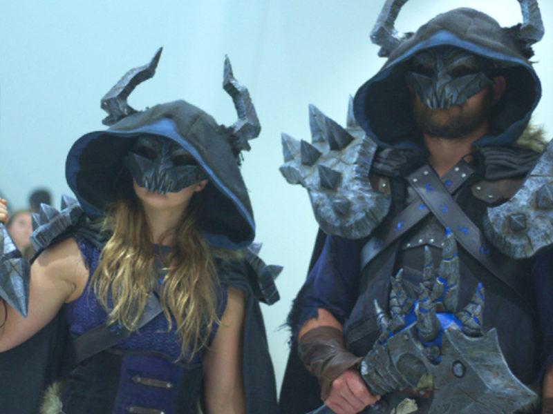 Ronda and Trav as Death Knights