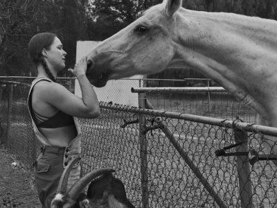 Ronda Rousey horse