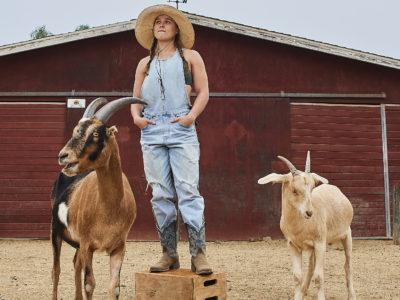 Ronda Rousey goats