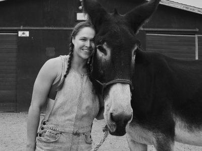 Ronda Rousey donkey