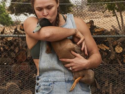 Ronda Rousey duck
