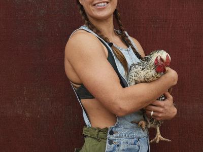Ronda Rousey Dominique chicken