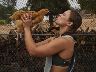 Ronda Rousey chicken