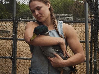 Ronda Rousey mallard duck
