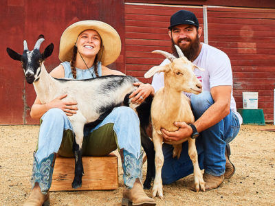 Ronda Rousey Travis Browne goats