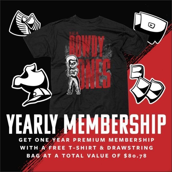 ronda rousey yearly membership