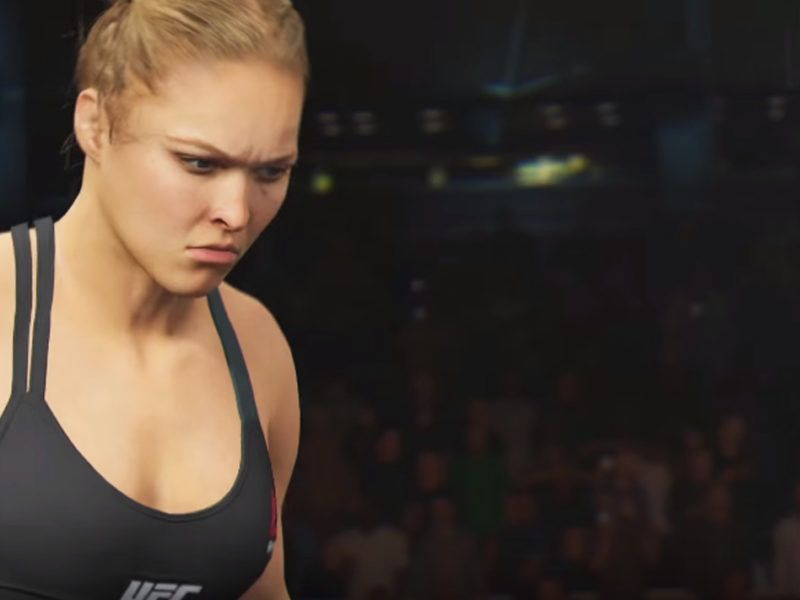 ronda rousey ea ufc 2 video game