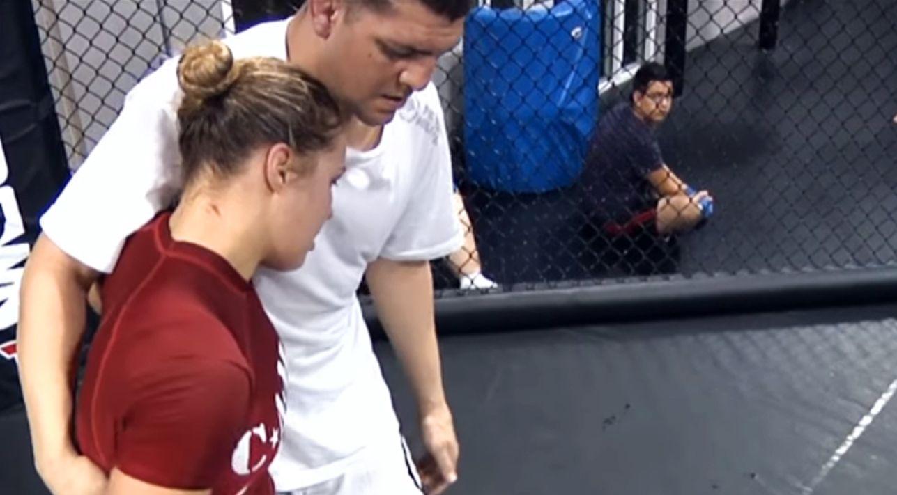 Ronda Rousey Nick Diaz Nate Diaz