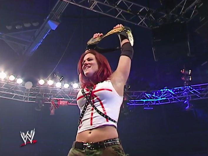 Classic Match: Lita vs. Trish Stratus, Monday Night RAW