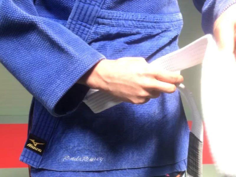 Ronda Rousey belt