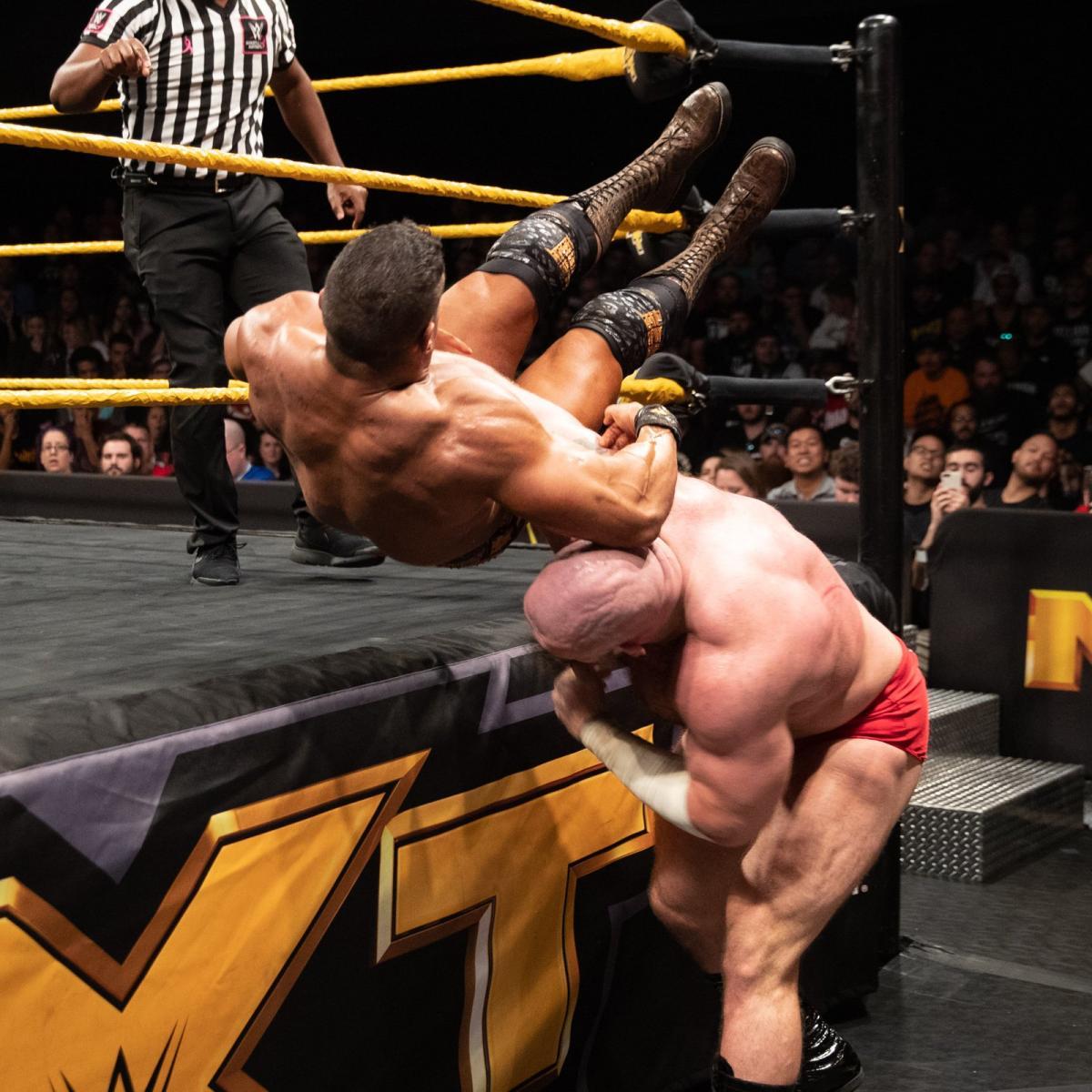 EC3, Lars Sullivan (source: WWE)