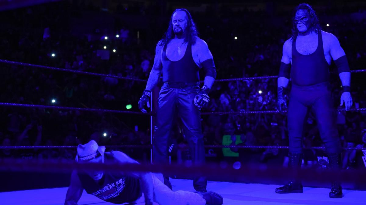Undertaker, Kane (source: WWE)