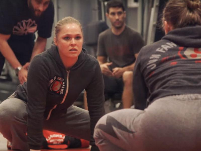 Ronda Rousey UFC 190 DNB