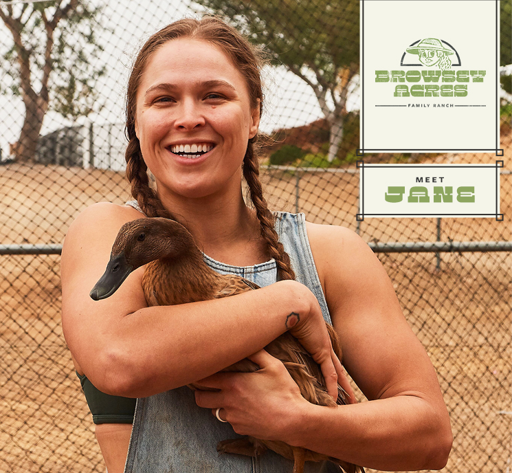 Ronda Rousey Browsey Acres Jane
