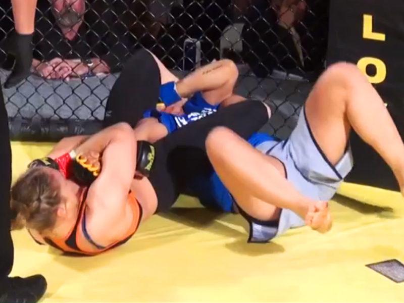 Ronda Rousey Ediane Gomes KOTC