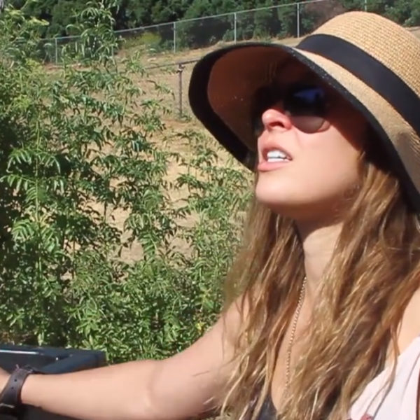 Ronda Rousey Browsey Acres hat