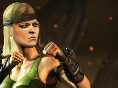 Ronda Rousey Sonya Blade Mortal Kombat