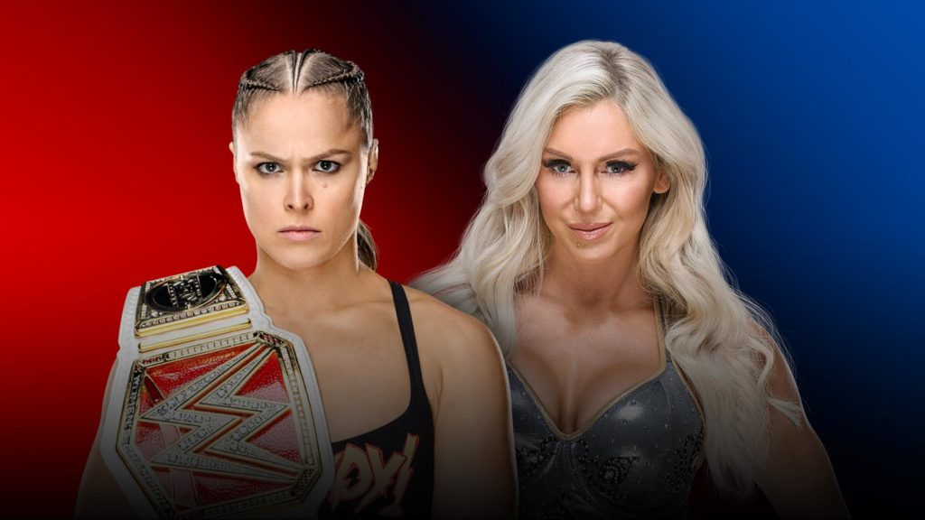 Ronda Rousey, Charlotte Flair (source: WWE)