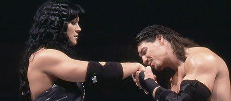 Chyna, Eddie Guerrero (source: WWE)