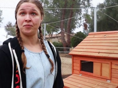 Ronda Rousey farm browsey acres