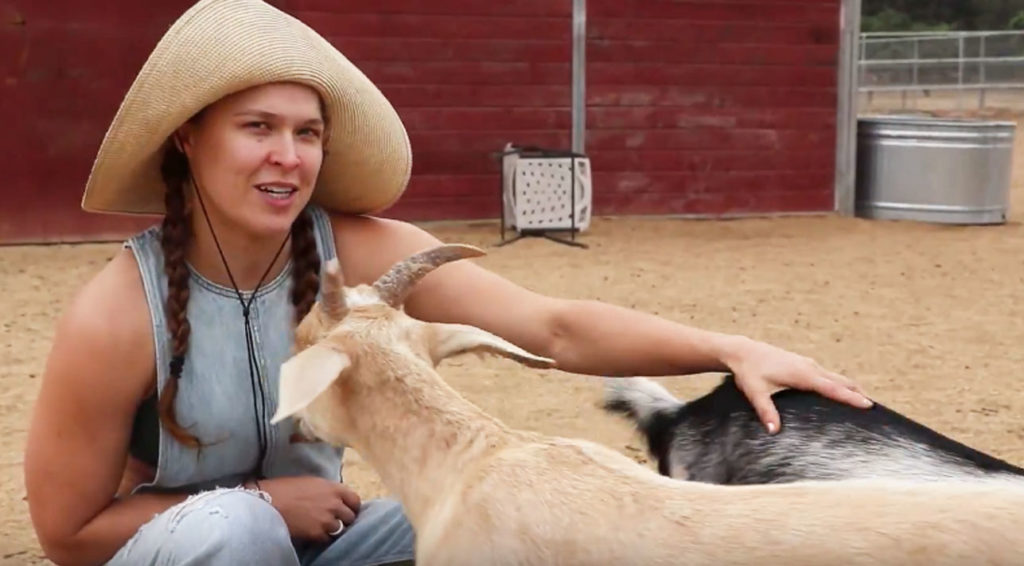 Ronda Rousey Browsey Acres