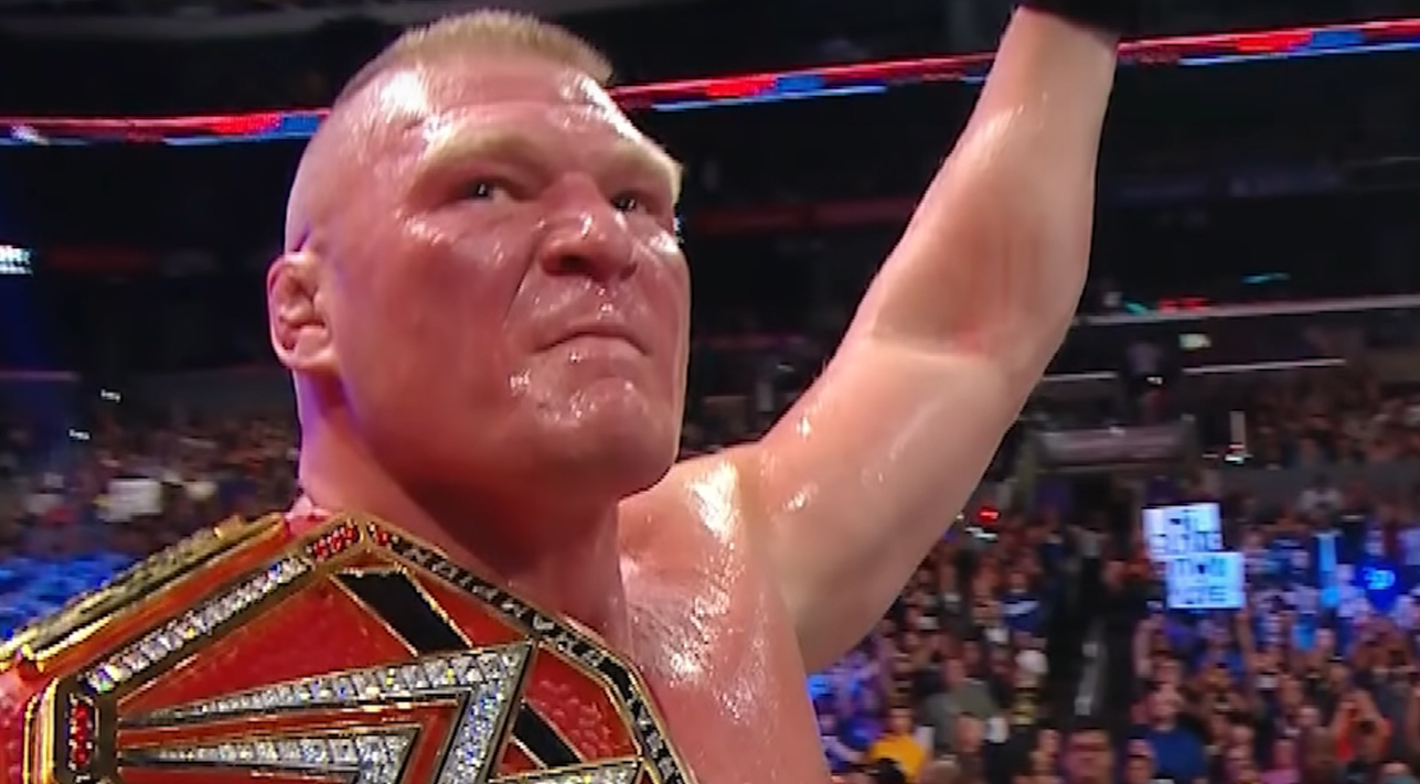 brock lesnar survivor series