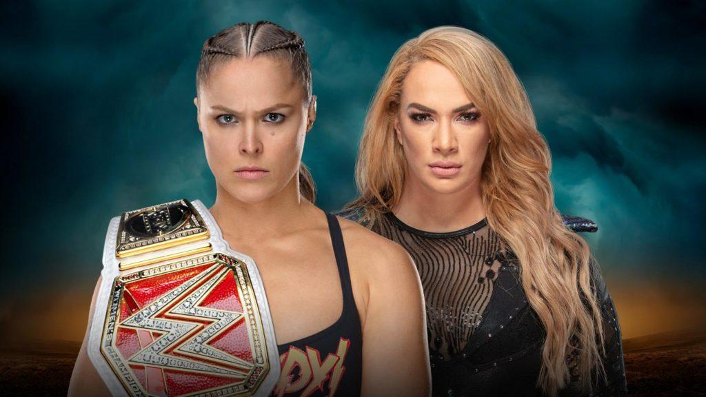 Ronda Rousey, Nia Jax (source: WWE)