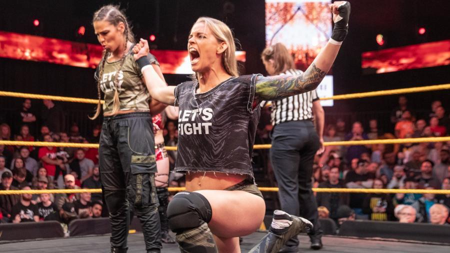 Marina Shafir, Jessamyn Duke (source: WWE)