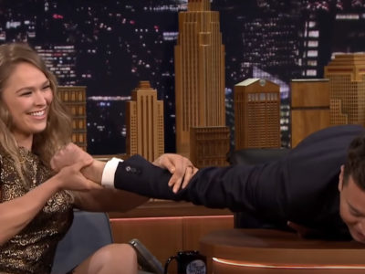 Ronda Rousy Jimmy Fallon Tonight Show