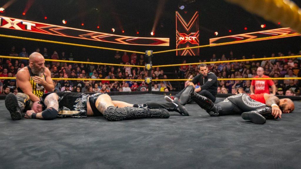 Tommaso Ciampa, Johnny Gargano (source: WWE)