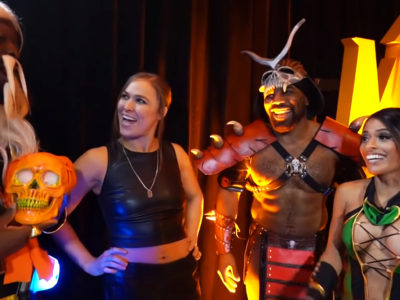 Ronda Rousey Austin Creed Zelina Vegas Kofi Kingston