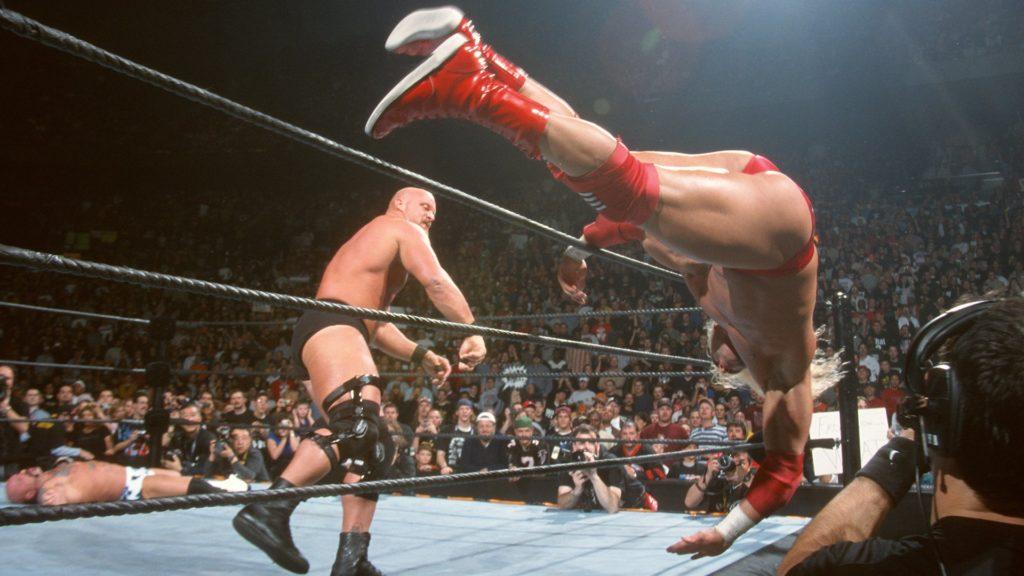 """Stone Cold"" Steve Austin (source: WWE)"