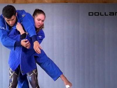 Ronda Rousey judo throw
