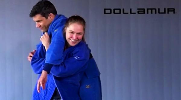 Ronda Rousey judo dojo