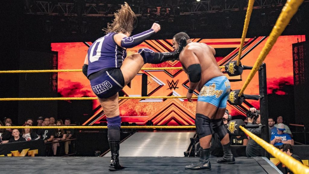 Kassius Ohno, Keith Lee (source: WWE)