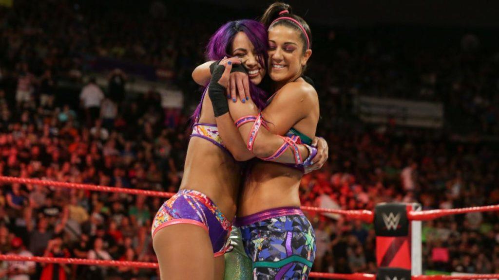 Sasha Banks, Bayley (source: WWE)