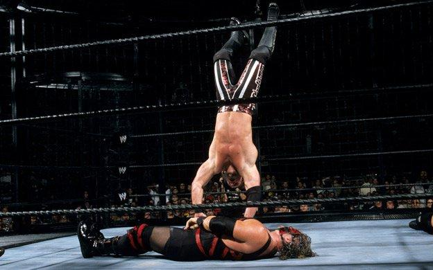 Kane, Chris Jericho (source: WWE)