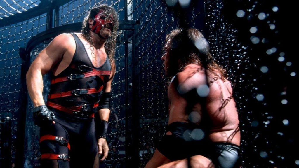 Kane, Triple H (source: WWE)