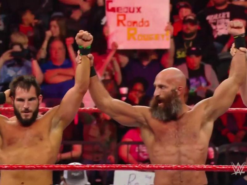 Tommaso Ciampa and Johnny Gargano make WWE RAW debut