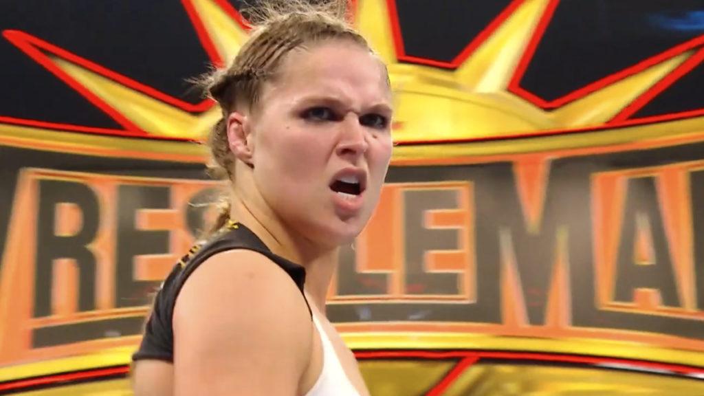 Ronda Rousey WWE RAW