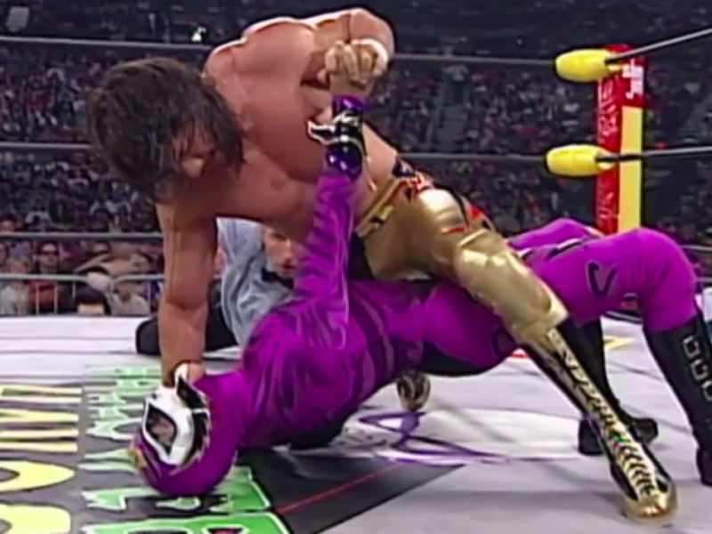 Eddie Guerrero and Rey Mysterio in WCW