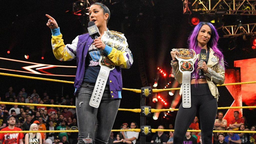 Bayley, Sasha Banks (source: WWE)