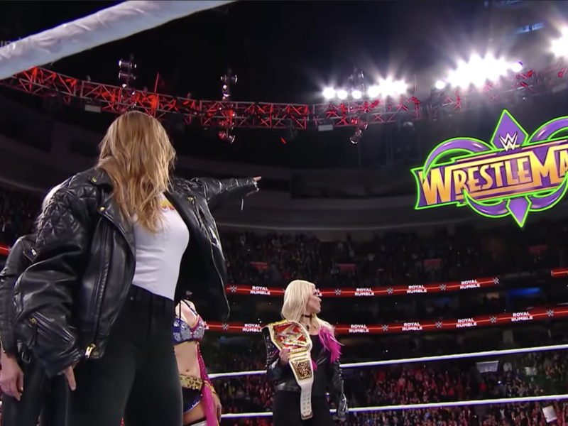 Ronda Rousey WWE Royal Rumble