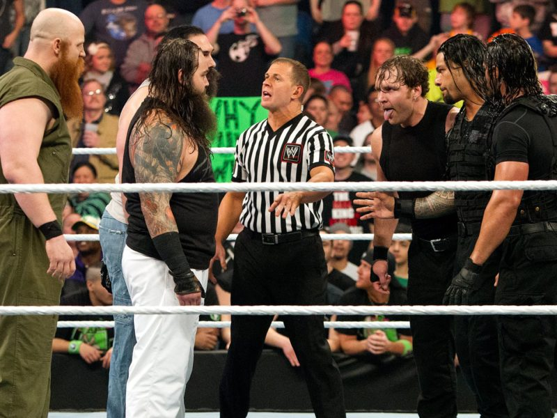 Wyatt Family vs The Shield from Elimination Chamber 2014