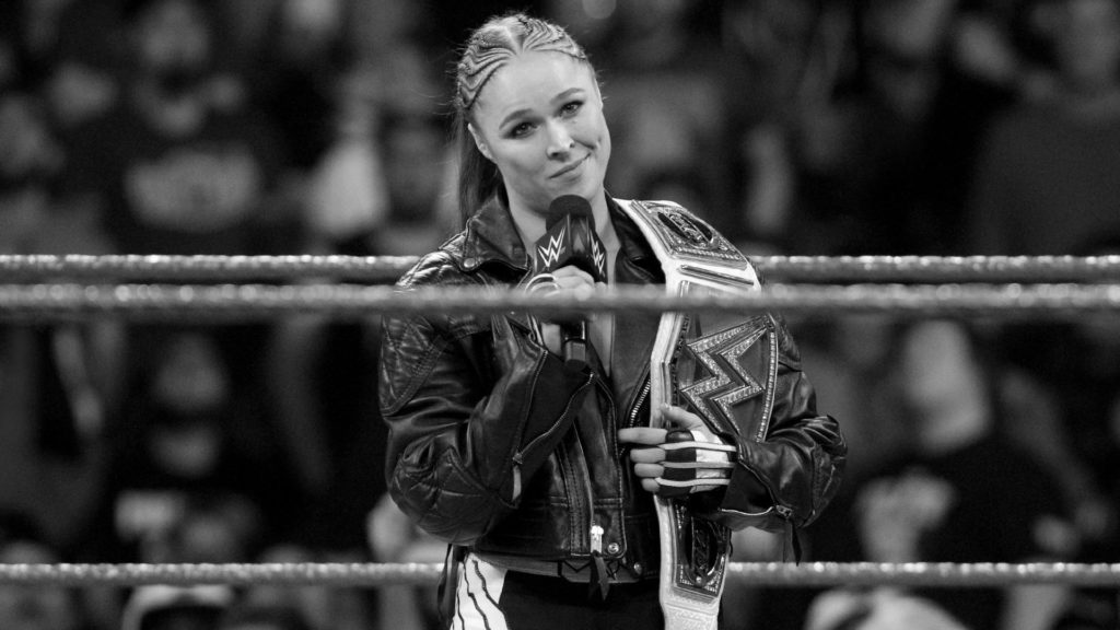 Ronda Rousey (source: WWE)