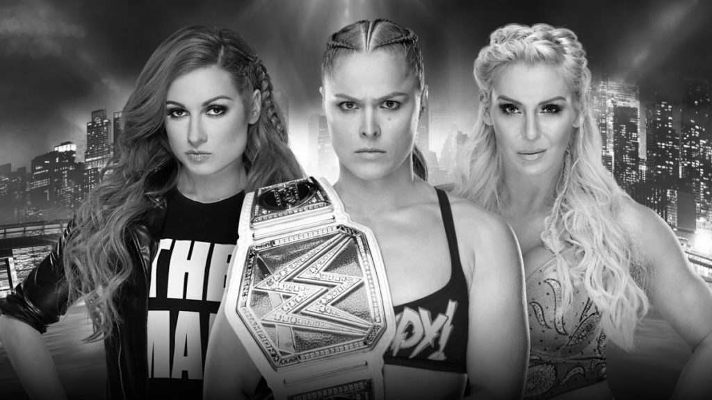 Becky Lynch, Ronda Rousey, Charlotte Flair (source: WWE)