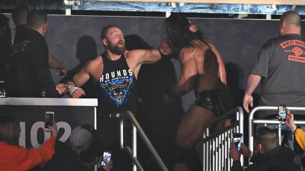 Dean Ambrose, Drew McIntyre (source: WWE)