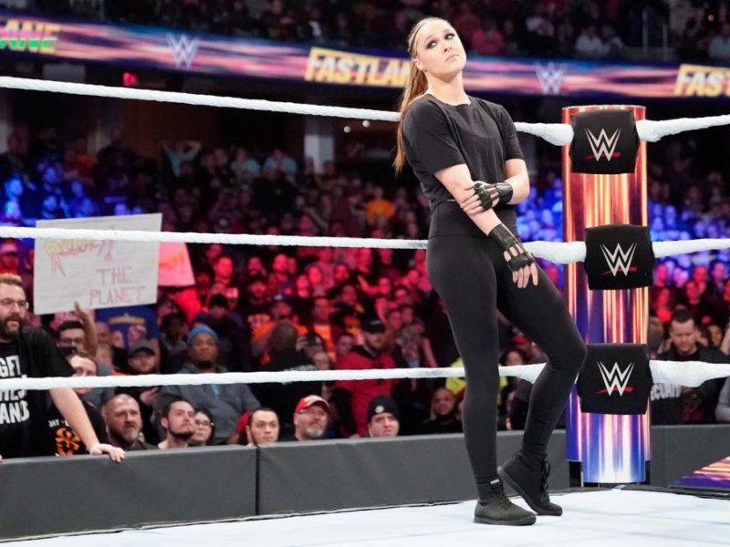 Ronda Rousey at WWE Fastlane