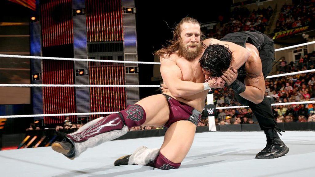 Daniel Bryan, Roman Reigns (source: WWE)